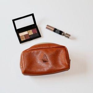 Barrington | Faux Leather Cosmetic Bag